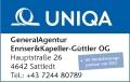 Logo: Generalagentur Ennser & Kapeller  Versicherungsagent