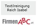 Logo: Textilreinigung  Reich Isabel