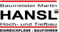 Logo: Baumeister Martin Hansl Hoch- und Tiefbau