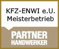 Logo KFZ-ENWI e.U.  Meisterbetrieb