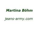 Logo Jeans & Army-Shop  Martina Böhm