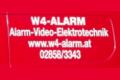 Logo W4 Alarm  Inh. Harald Pleier  Sicherheitstechnik
