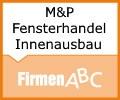 Logo M&P FensterHandel und Innenausbau e.U. Miedler Andreas