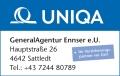 Logo Generalagentur Ennser e.U.  Versicherungsagent