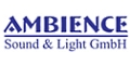 Logo Ambience  Sound & Light GmbH