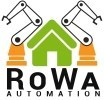 "Logo RoWa Automation  ""LOXONE Silver Partner"""