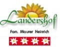 Logo Landershof  Heinrich Maurer
