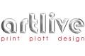 Logo: Artlive Print - Plott-Design GmbH