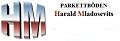 Logo: Harald Mladosevits  Parkettböden Bodenleger