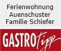 Logo Ferienwohnung Auenschuster  Familie Schiefer