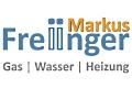 Logo Markus Freiinger  Gas - Wasser - Heizung