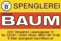 Logo Spenglerei Willibald Baum GesmbH