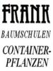 Logo Frank Baumschulen  Inh. Johann Frank