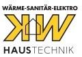 Logo KW-Haustechnik GmbH  Wärme-Sanitär-Elektro