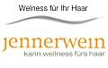 Logo jennerwein  karin.wellness fürs haar.
