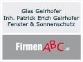 Logo: Glas Geirhofer Inh. Patrick Erich Geirhofer Fenster & Sonnenschutz