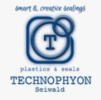 Logo: Technophyon E.U.  Inh. Mag. Cornelia Seiwald  Kunststoffe & Dichtungen