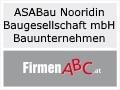 Logo ASABau Nooridin Baugesellschaft mbH  Bauunternehmen
