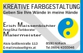 Logo Kreative Farbgestaltung  Erich Maissenbichler in 8580  Köflach