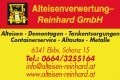 Logo Alteisenverwertung Reinhard GmbH