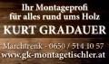 Logo: Montagetischler Gradauer Kurt Montagen & Möbelmontagen aller Art