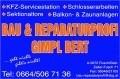 Logo Bau- und Reparaturprofi  Rupert Gimpl in 5672  Fusch an der Großglocknerstraße