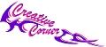 Logo Creative Corner  Sabine Schantl