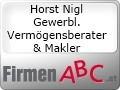 Logo: Horst Nigl  Gewerbl. Verm�gensberater & Makler