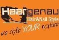 Logo Haargenau Styling  Gerlinde Ciboch