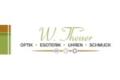 Logo Optik W. Theuer in 4360  Grein
