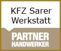 Logo Sarer Kfz-Werkstatt