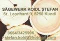 Logo Sägewerk Koidl Stefan