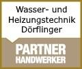 Logo Wasser- und Heizungstechnik Dörflinger