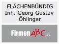 Logo: FLÄCHENBÜNDIG  Inh. Georg Gustav Öhlinger