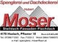 Logo Moser Hubert  Spenglerei - Dachdeckerei  GesmbH & Co KG