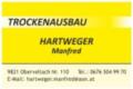 Logo Hartweger Manfred  Trockenausbau
