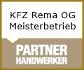 Logo KFZ Rema OG  Meisterbetrieb