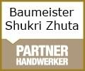 Logo Baumeisterbetrieb  Shukri Zhuta
