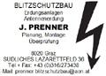 Logo: Prenner  Blitzschutz- und Erdungsanlagen