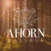 Logo: AHORN Massage