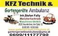Logo Gartengeräte Ambulanz  Inh. Stefan Fally in 2620  Neunkirchen