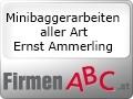 Logo: Minibaggerarbeiten aller Art  Ernst Ammerling