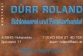 Logo: Schlosserei und Fensterhandel  Roland D�rr