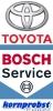 Logo: Bosch Service Kornprobst GesmbH & Co KG  KFZ-Elektrik- u. Elektronik - Toyota Vertragspartner