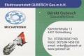 Logo Elektrowerkstatt  GUBESCH Ges.m.b.H.