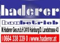 Logo HADERER BAUBETRIEB Markus Haderer Ges.m.b.H