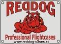 Logo: REDDOG  Professional Flightcases  Rüdiger Hohensinner