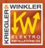 Logo: Kriegler & Winkler  Elektroinstallations OG