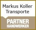 Logo Markus Koller  Transporte