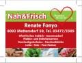 Logo Nah & Frisch  Renate Fonyo in 8092  Mettersdorf am Saßbach